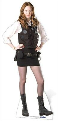 Amy Pond Police Uniform Karen Gillan Dr Who Official Lifesize Cardboard Cutout