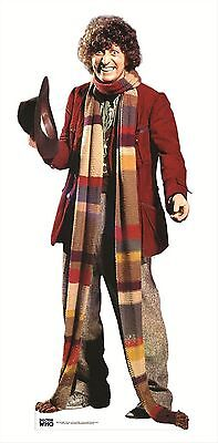 The Fourth Doctor Who Tom Baker Official Celebrity Cardboard Fun Cutout/Figure