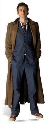The Tenth Doctor Who David Tennant Official Lifesize Celebrity Cardboard Cutout