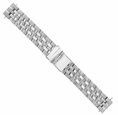 20Mm Watch Band Stainless Steel Bracelet For Breitling Pilot Matte/Polish S/End