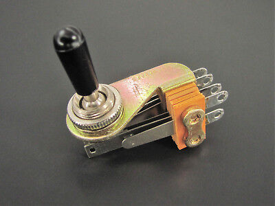 Switchcraft 12037T, 3 Position Intercom Switch 3A 300WMax Lever Switch,  NOS