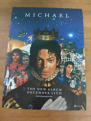 MICHAEL JACKSON - Michael [OFFICIAL] POSTER 2010 NEW