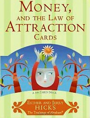 Money and the Law of Attraction Cards by Esther & Jerry Hicks NEW & Sealed