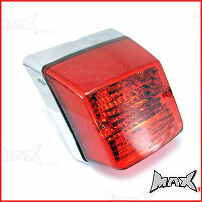 High Quality Vespa P PX 200 Chromed Tail Brake Light Stella Belladonna LML Star