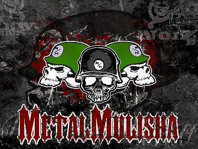 METAL MULISHA BANNER #4, Flag Sign Motocross Dirtbike Moto Wall Art