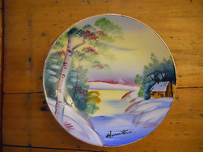 Signed Painted Saucers Made In Japan Your Choice