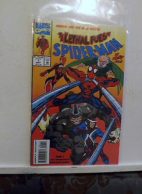 1993 September Marvel Comics The Lethal Foes of Spider-Man Comic Book