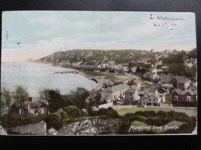 Mumbles from Quarry c1906