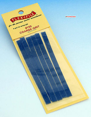 Albion Alloys 150 - 6 x Flex-i-File #150 Coarse Grit Tape Refill Pack New