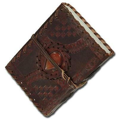 Medieval Renaissance Stone Middle Ages Leather Handmade Notebook Diary Journal