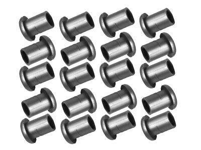 20 X NYLON PLASTIC GROMMETS GREY for 316 3.2mm Stainless Steel Balustrade Kits