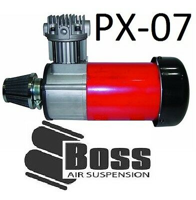 BOSS PX07 Air Compressor 12V and 24V 3/4 HP 100% Duty Cycle totally rebuildable