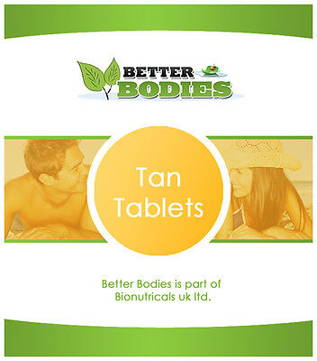 Fast Tan Tanning Sun Bed Tablets Speeds Up The Tanning Process Natural & Safe