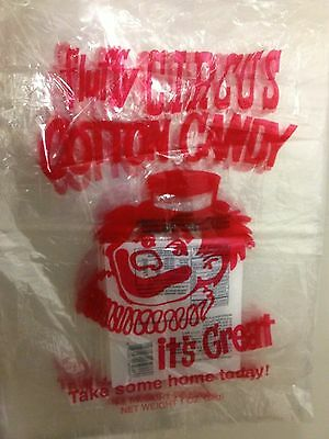 Gold Medal Fluffy Circus Cotton Candy Bags, bulk