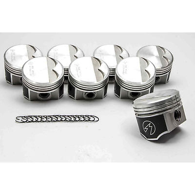 Speed Pro Chrysler/Dodge 340 Forged Flat Top 2VR Pistons Set 10:1 1968-71 +40