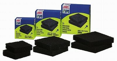 Juwel Carbon Sponge Replacement Filter Media Compact Standard Jumbo Tropical