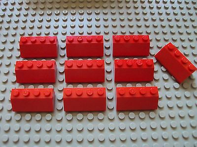 Lego ~ Lot of 4 White 1 x 6 x 2 Slope Wall Panel Bricks 55 Degree Sloped #dlkp
