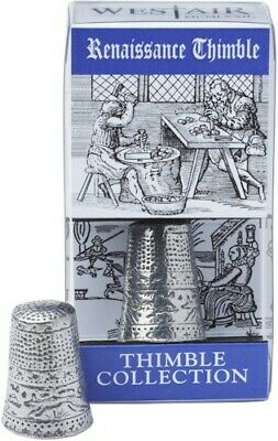 Renaissance Pewter Thimble. 16th Century Europe Italy Arts Painting Sculpture bn