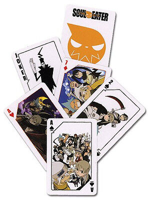 *NEW* SOUL EATER PLAYING CARDS