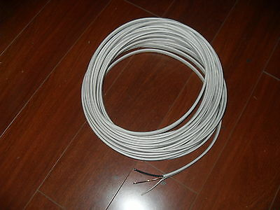 50FT ROLL 14/2 WITH GROUND ROMEX COPPER WIRE 600VOLT LEFTOVER FROM NEW ROLL NEW!