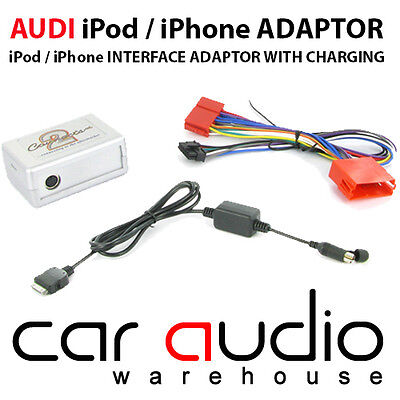 CTAADIPOD003.3 Audi A3 96-05 Car iPod iPhone Aux In Interface Adaptor Connects2