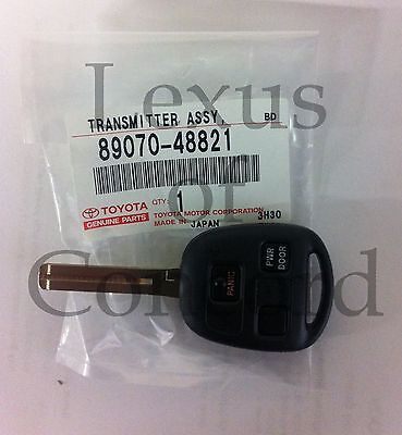 04-09 RX330 RX350 RX400h with power hatch Master Key Blank complete  w/remote