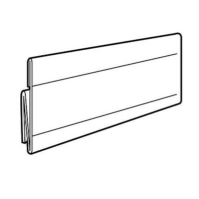 "SET OF 20 SHELF TALKERS FOR DATASTRIPS SCANNING RAILS A6 5.9""x4.1"" CENTRAL FIT"