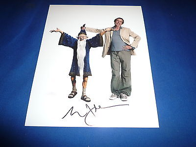 ERIC IDLE  signed Autogramm 20x25 cm In Person MONTY PYTHON
