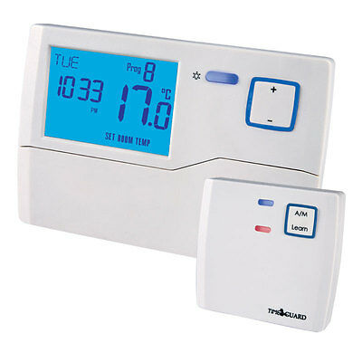 Timeguard TRT037 Wireless 7 Day Programmable Room Thermostat & Receiver