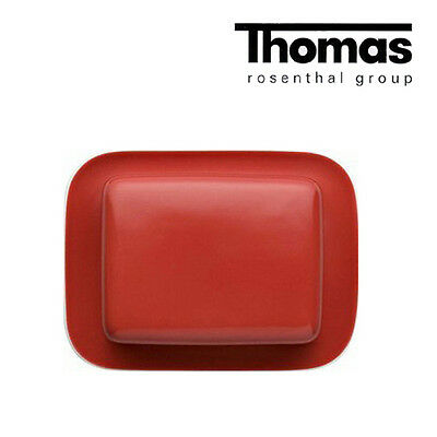 THOMAS SUNNY DAY Butterdose 2-teilig New Red Neu / 1.Wahl