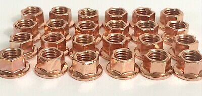 Brass K Nut for Kart Wheels - Pack of 25 - Top Quality Nuts - TKM - Rotax Max