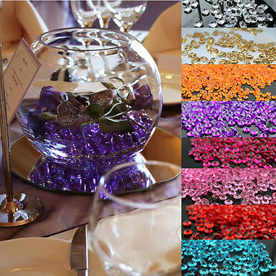 10000PCS 2.5mm 1/5ct Diamond Table Confetti Decoration Wedding Party CRYSTALS