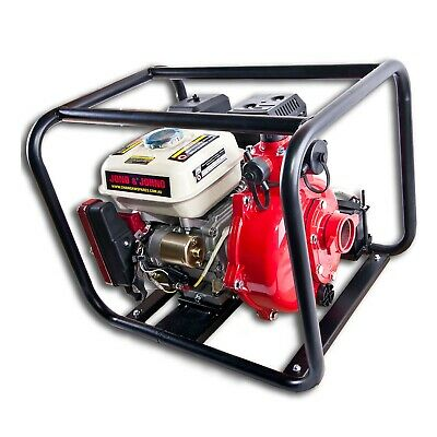6.5HP Electric Start Twin Impeller Water Fire Fighting Pump OHV Petrol Engine