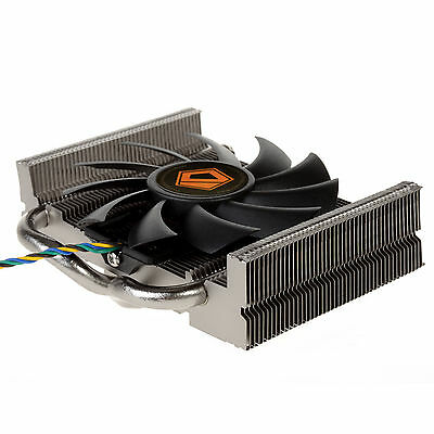 ID-COOLING is-25i for ITX and HTPC systems Low-Profile CPU Cooler,2 Heatpipe