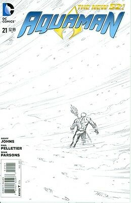 Aquaman # 21  Sketch Variant
