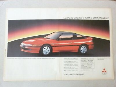 ADVERTISING PUBBLICITA' eclipse Mitsubishi     -1992 (nn)