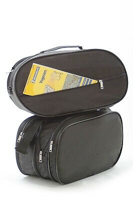 2 Pannier Liner Bags For Honda Deauville Nt 650 V Luggage Case