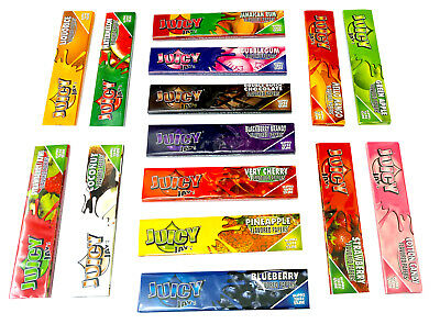 Flavoured Papers Juicy Jays King Size Cigarette Rolling Rizla Paper Pick N Mix