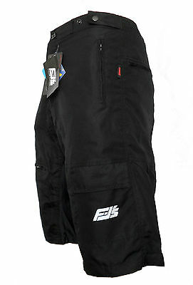 New Mtb Off Road Cycle / Cycling Bicycle Shorts Detachable Padded Liner Shorts