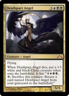 DEATHPACT ANGEL Gatecrash MTG Gold Creature—Angel MYTHIC RARE