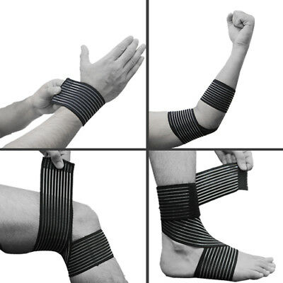 Gallant Elasticated Compression Bandage Wrap Knee Ankle Wrist Elbow Support NHS