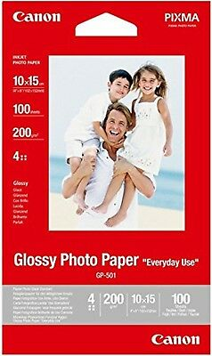 Canon GP-501 0775B003 4x6 (10x15cm) Glossy Photo Paper 100 Sheets