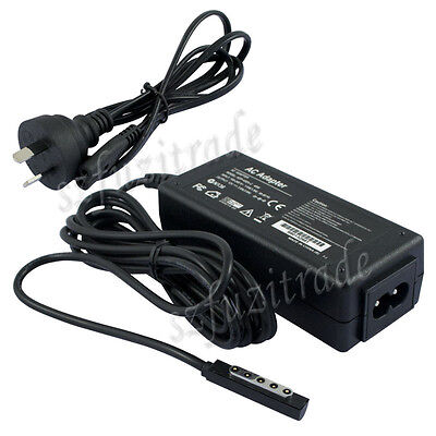AU 12V AC WALL Charger adapter for Microsoft Surface 10.6 Tablet Windows 8 PRO