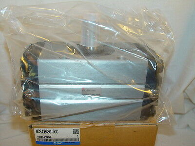 SMC NCRA1BS80-90C Rotary Actuator New In Box