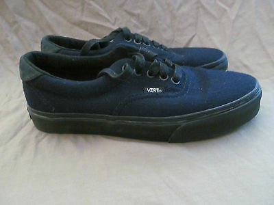 New Authentic Vans Classic Navy Blue Wool Mens 7 Women's 8.5 Skateboard Shoes