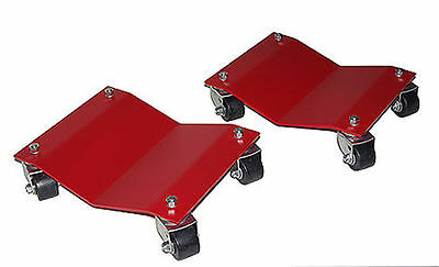 "Merrick M998104 12"" x 16"" Auto Vehicle Dollies (Heavy Duty) Set of 2"