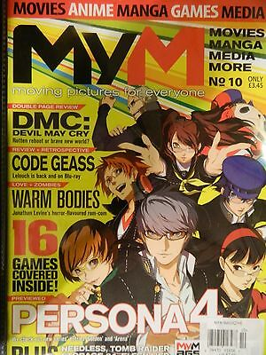 """MyM Magazine Issue 10  - Persona 4 - 16 Games Covered """"Sect C"""""""