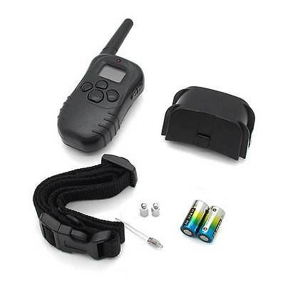 LCD 100 Level 300M Remote Control Electric Shock Vibrate Pet Dog Training Collar