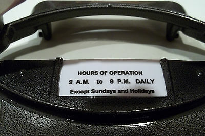 Duncan Parking Meter   ****hours Of Operation**** (Quanity 2)