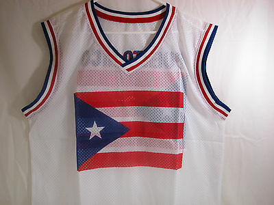 Puerto Rico T Shirt Ventilate Muscle Shirt New  With Puerto Rico Flag